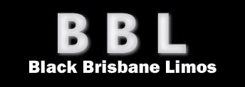 Black Brisbane Limos Logo