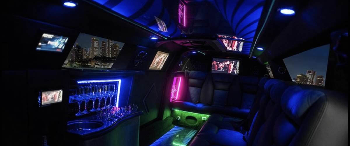 Black Limo Brisbane Interior