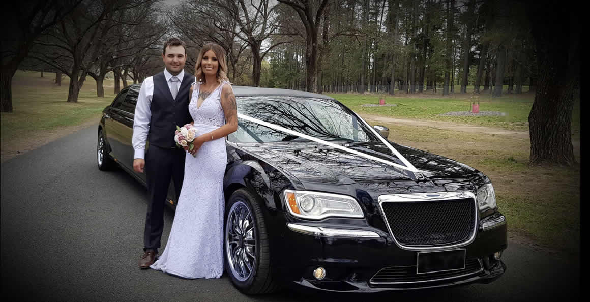 Brisbane Black Wedding Limo Hire
